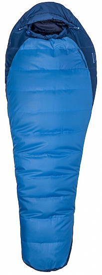 Спальник Marmot Trestles 15 X Wide Long Cobalt Blue/Blue Night - Фото 1 большая