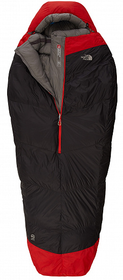 Спальник The North Face Inferno -40F/-40C Grey/Red 197 см - Фото 1 большая