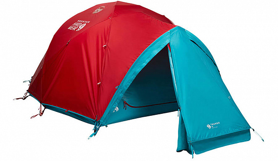 Палатка Mountain Hardwear Trango 4 Red/Green