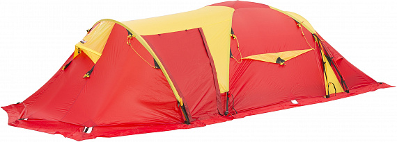 Палатка Helsport Svalbard High Camp 5 Red/Yellow - Фото 1 большая