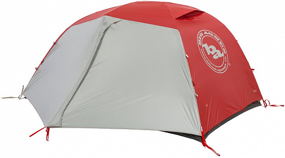 Палатка Big Agnes Copper Spur HV3 Expedition Red - Фото 1 большая