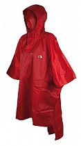 Плащ унисекс Tatonka Poncho 1 Red