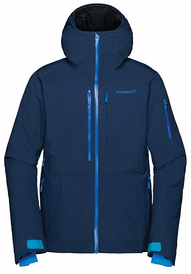 Куртка мужская Norrona Lofoten Gore-Tex Insulated Indigo Night - Фото 1 большая
