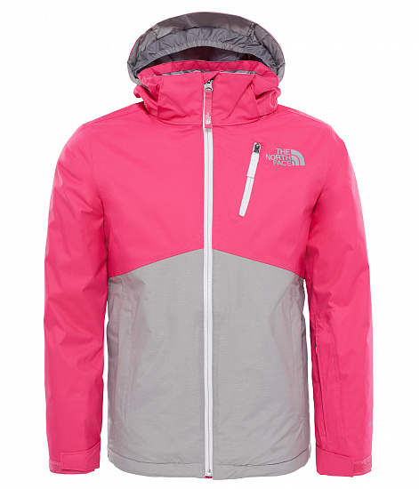 Куртка детская The North Face Snowquest Plus Petticoat Pink