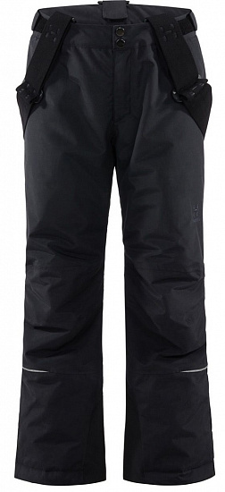 Брюки детские Haglofs Niva Insulated True Black - Фото 1 большая