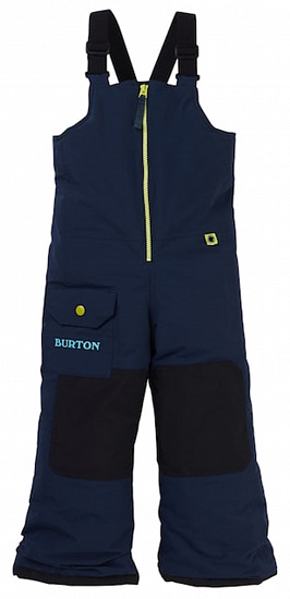 Брюки детские Burton Maven Bib Dress Blue - Фото 1 большая