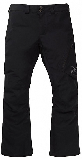 Брюки мужские Burton [Ak] Gore-Tex Cyclic True Black - Фото 1 большая