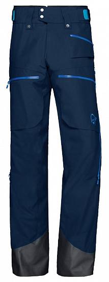 Брюки мужские Norrona Lofoten Gore-Tex Insulated Indigo Night