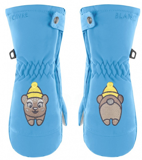 Варежки детские Poivre Blanc W20-1073-BBGL Polar Blue - купить в магазине Спорт-Марафон с доставкой по России