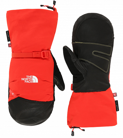 Варежки The North Face Summit Belay Fiery Red