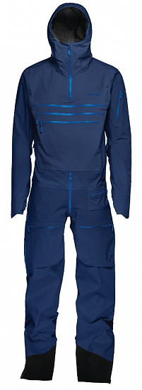 Комбинезон Norrona Lofoten Gore-Tex Pro One-Piece Indigo Night - Фото 1 большая