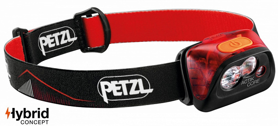 Фонарь Petzl Actik Core Red - Фото 1 большая