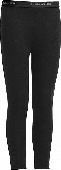 Кальсоны детские Icebreaker Compass Leggings Black