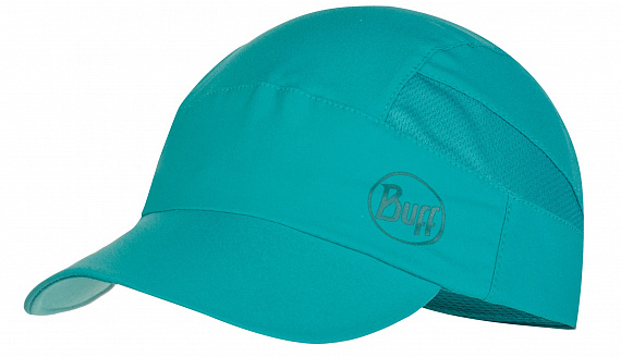 Кепка Buff Pack Trek Cap Solid Deep Sea Green - Фото 1 большая
