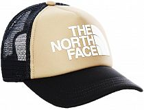 Кепка детская The North Face Logo Trucker Kelp Tan/Asphalt Grey