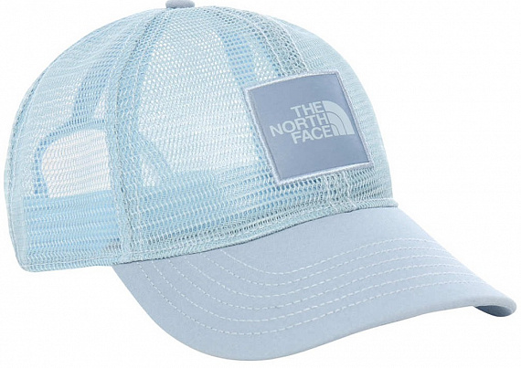 Кепка The North Face Mudder Novelty Mesh Trucker Faded Blue - Фото 1 большая