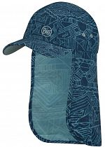 Кепка Buff Bimini Cap Kids Kasai Night Blue