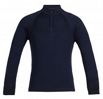 Футболка детская Icebreaker 260 Tech LS Half Zip Midnight Navy