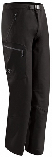 Брюки мужские Arcteryx Gamma AR Black Long - Фото 1 большая