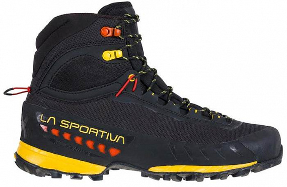 Ботинки мужские La Sportiva TxS Gtx Black/Yellow - Фото 1 большая