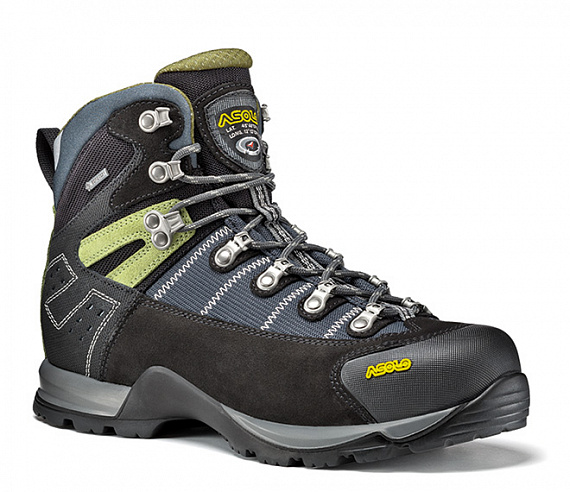 Ботинки Asolo Energy Fugitive GTX MM Black/Gunmetal - Фото 1 большая