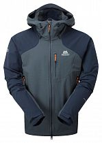 Куртка мужская Mountain Equipment Frontier Hooded Blue/Cosmos