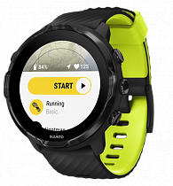 Часы Suunto 7 Black Lime