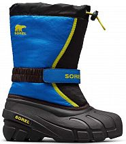 Сапоги детские Sorel Flurry Dtv Black/Super Bl
