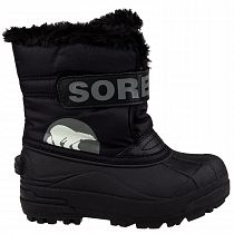 Сапоги детские Sorel Snow Commander Black/Charcoal