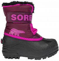 Сапоги детские Sorel Snow Commander Purple Dahlia