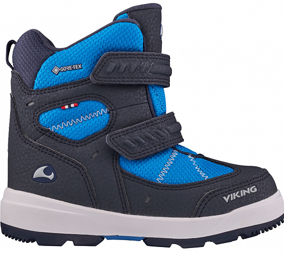 Ботинки детские Viking Toasty II GTX Navy/Blue - Фото 1 большая