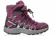 Ботинки детские Salomon Xa Pro 3D Winter TS CSWP Darkpink