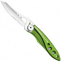 Нож Leatherman Skeletool KBX Light Green