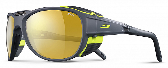 Очки Julbo Explorer 2.0 Matt Grey/Green/Zebra - Фото 1 большая