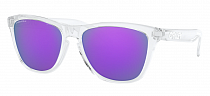 Очки Oakley Frogskins Polished Clear/Prizm Violet