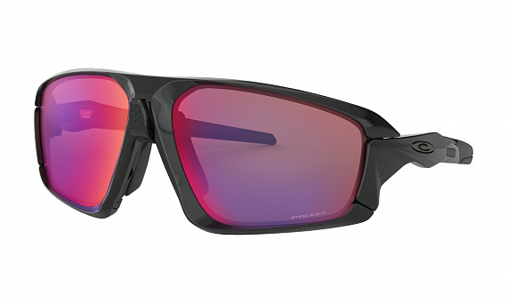 Очки Oakley Field Jacket Polished Black/Prizm Road - Фото 1 большая