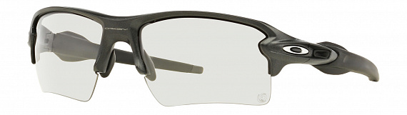 Очки Oakley Flak 2.0 Xl Steel / Clear Black Iridium Photocromatic - Фото 1 большая