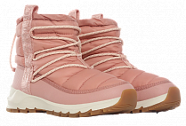 Ботинки женские The North Face Thermoball Lace Up Pink Clay/Morning Pink