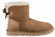 Ботинки женские UGG Mini Bailey Bow Ii Chestnut