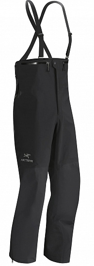 Брюки мужские Arcteryx Beta SV Bib Black - Фото 1 большая