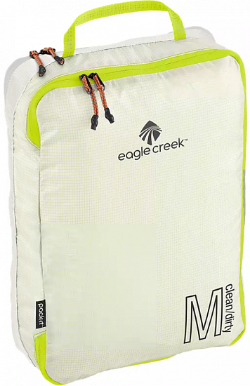 Органайзер для багажа Eagle Creek Pack-It Specter Tech Clean/Dirty Cube Medium White/Strobe - Фото 1 большая