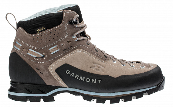 Ботинки женские Garmont Vetta GTX Warm Grey/Light Blue - Фото 1 большая