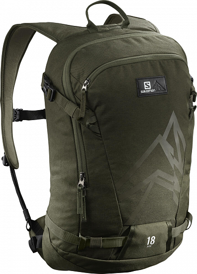 Рюкзак Salomon Side 18 Olive Night - Фото 1 большая