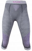Кальсоны женские UYN 3/4 Underwear Fusyon Uw Medium Anthracite/Purple/Pink