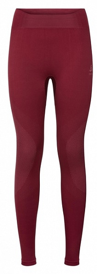 Кальсоны женские Odlo Performance Warm Rumba Red/Mesa Rose