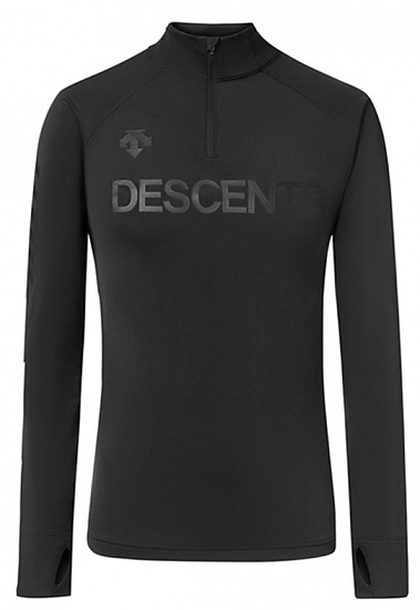 Пулон мужской Descente 1/4 Zip Black - Фото 1 большая