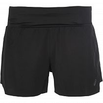 Шорты женские Asics 3.5In Short Performance Black