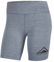 Шорты женские Nike Fast Short Trail Blackened Blue/Htr/Reflective Silv