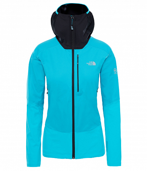 Куртка женская The North Face Summit L4 Windstopper Hybrid hooded Bluebird/T
