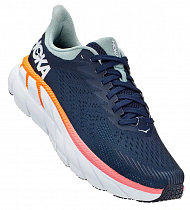 Кроссовки женские Hoka Clifton 7 Black Iris/Blue Haze